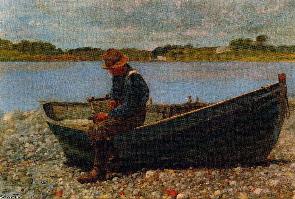 a literary analysis of breezing up by winslow homer