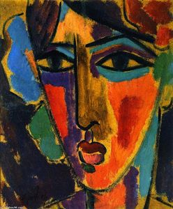 Alexej Georgewitsch Von Jawlensky - Woman's Head