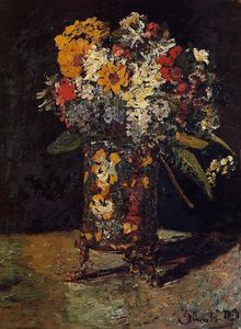 Adolphe Joseph Thomas Monticelli - Bouquet of Flowers