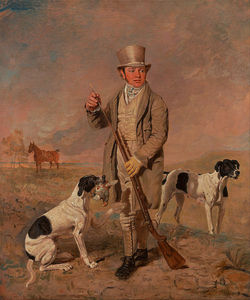 Benjamin Marshall - Portrait Of A Sportsman, Possibly Richard Prince