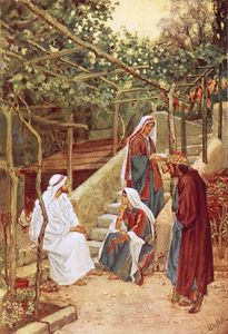William Brassey Hole - Jesus Resting At Bethany At The House Of His Friends