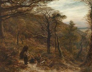John Linnell - The Woodcutter's Return