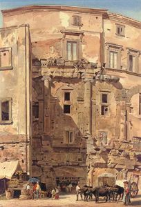 Thomas Hartley Cromek - The Teatro Marcello, Rome, Italy