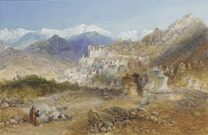 William Simpson - Leh, The Capital Of Tibet