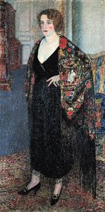 Leon De Smet - Woman With Shawl