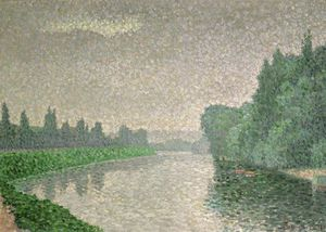 Albert Dubois Pillet - The Marne At Dawn