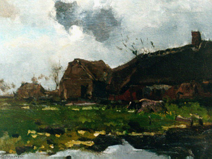 famous painting The Farm of Floris Verster
