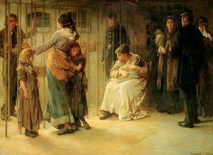 Francis Montague Holl - Newgate - Committed For Trial -