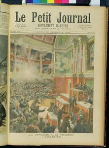 Frederic Theodore Lix - Dynamite Explodes In The Chamber Of Deputies