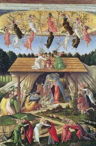 Sandro Botticelli - Mystic Nativity -