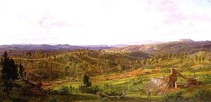 Eugene Von Guerard - North View From Daylesford
