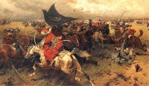 Jozef Brandt - Battle Over The Turkish Banner