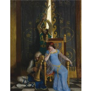 Nc Wyeth - King Mark Slew The Noble Knight Sir Tristram