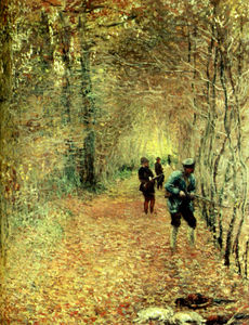 Claude Monet - the shoot