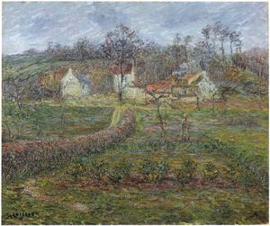 Gustave Loiseau - Landscape in a Valley