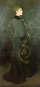 James Abbott Mcneill Whistler - Arrangement in Brown and Black Miss Rosa Corder