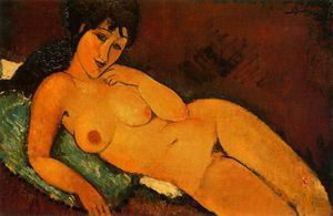 Amedeo Modigliani - untitled (9172)