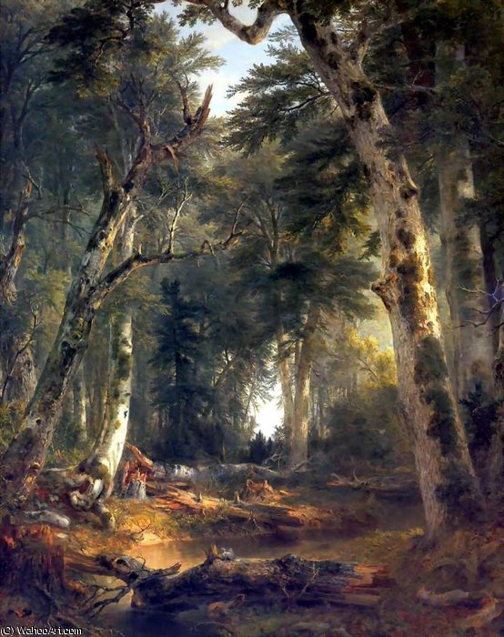 famous painting untitled (568) of Asher Brown Durand