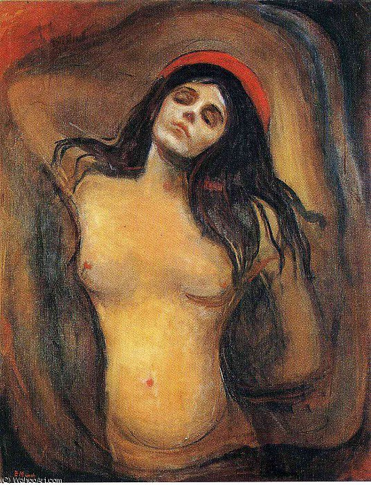 Buy Museum Art Reproductions | untitled (5816) by Edvard Munch | Most-Famous-Paintings.com