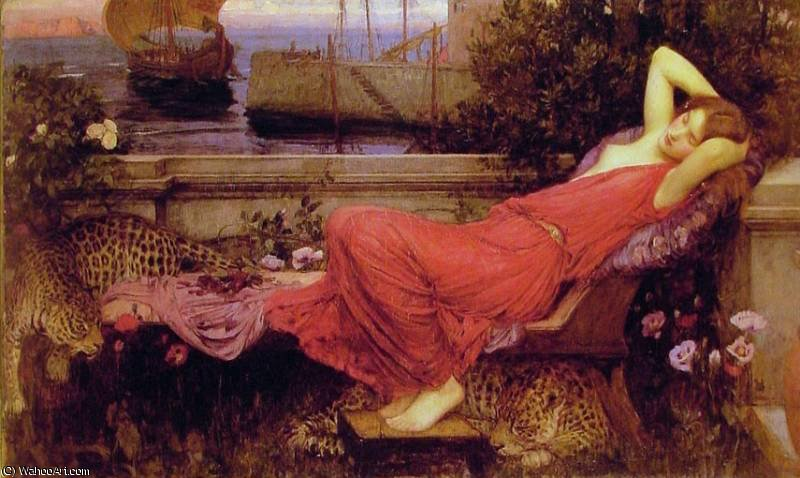 famous painting untitled (3122) of John William Waterhouse