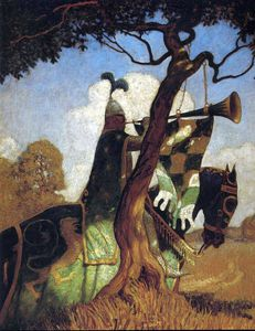 Nc Wyeth - untitled (3714)