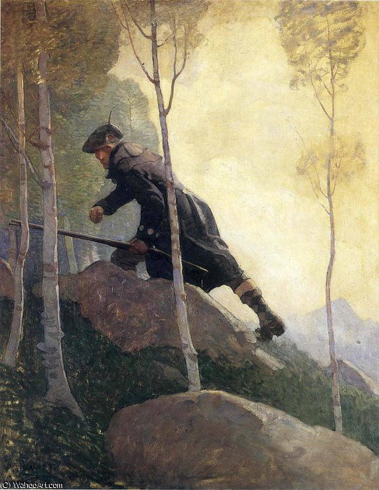 Order Paintings Reproductions | untitled (8116) by Nc Wyeth | Most-Famous-Paintings.com