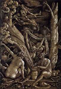 Hans Baldung - Witches Sabbath