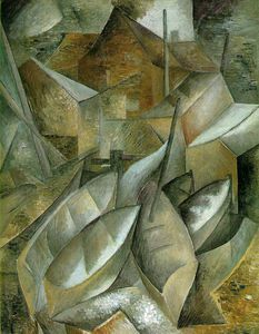 Georges Braque - Fishing boats, Museum of Fine Arts, Houston, Te