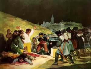 Francisco De Goya - The Shootings of May Third Prado