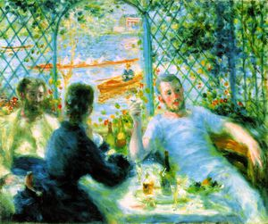 Pierre-Auguste Renoir - The canoeists' luncheon, The A