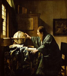 Jan Vermeer - The astronomer, Louvre