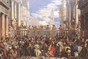 Paolo Veronese - The marriage at cana, louvre