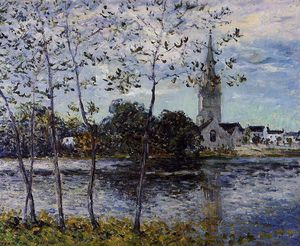 Maxime Emile Louis Maufra - The Banks of the Pond at Rosporden, Finistere