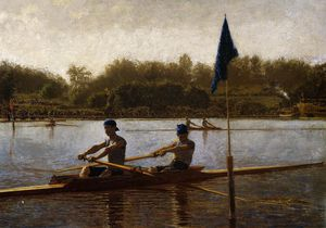 Thomas Eakins - The Biglin Brothers Turning the Stake Boat