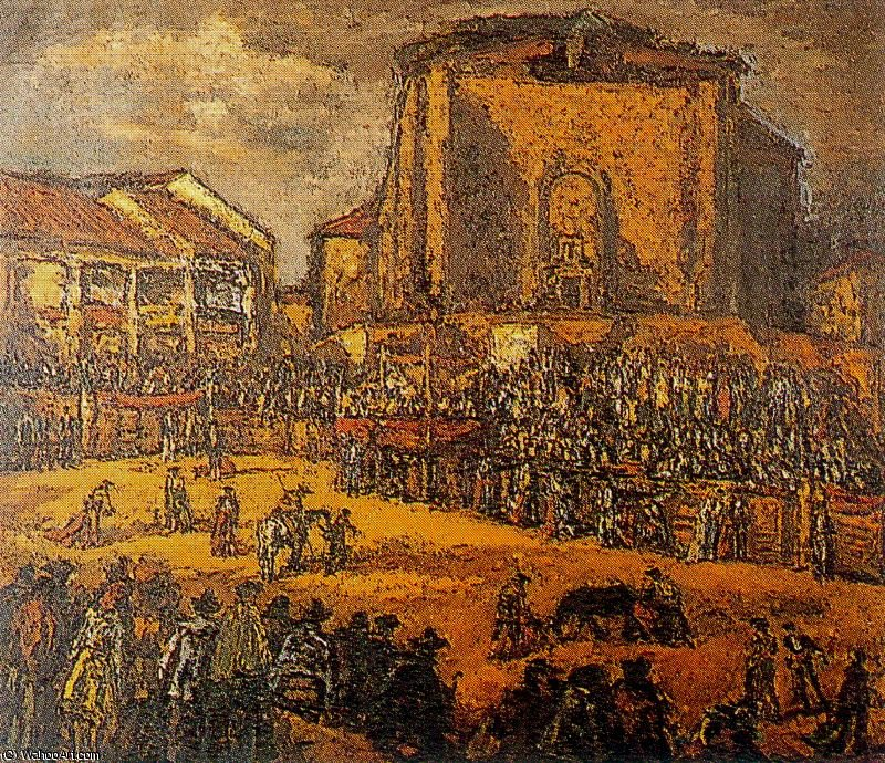 famous painting Untitled (373) of Arturo Souto