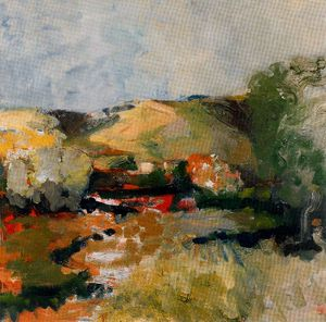 Elmer Bischoff - Untitled (484)