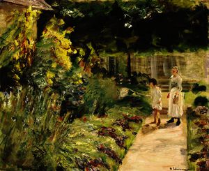 Max Liebermann - The granddaughter of the artist