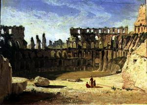 William Leighton Leitch - The colosseum