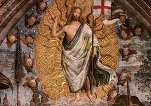 Pinturicchio - The Resurrection (center view)