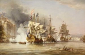George The Elder Chambers - Capture of Puerto Bello