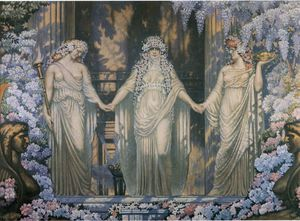 Jean Delville - The Women of Eleusis