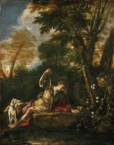 Pier Francesco Mola - Echo and Narcissus
