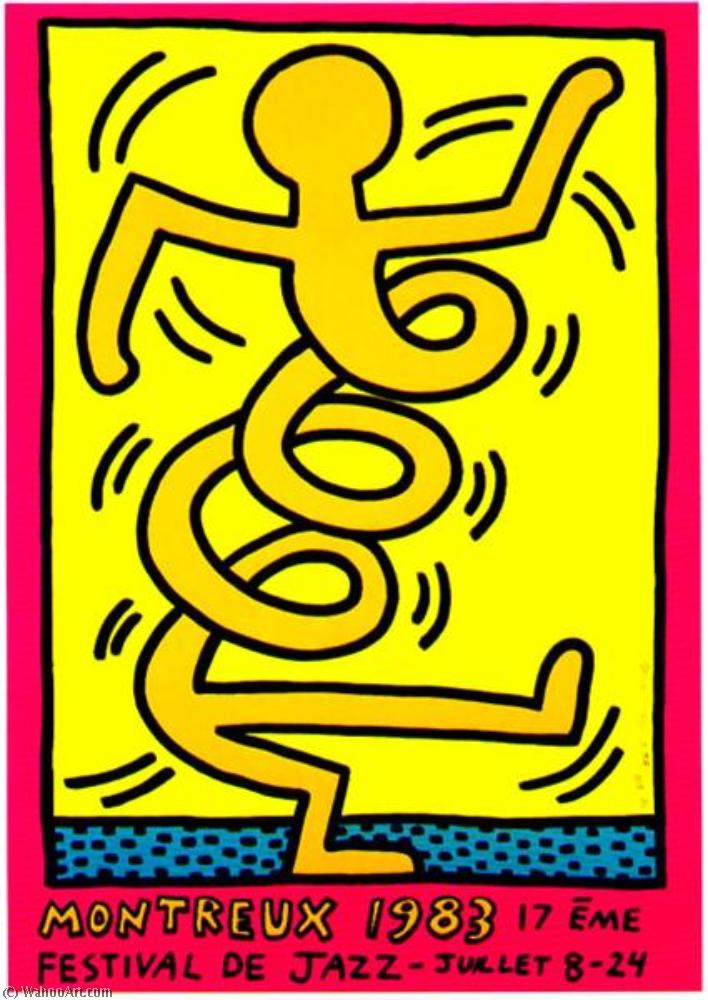 | Montreux by Keith Haring | Most-Famous-Paintings.com