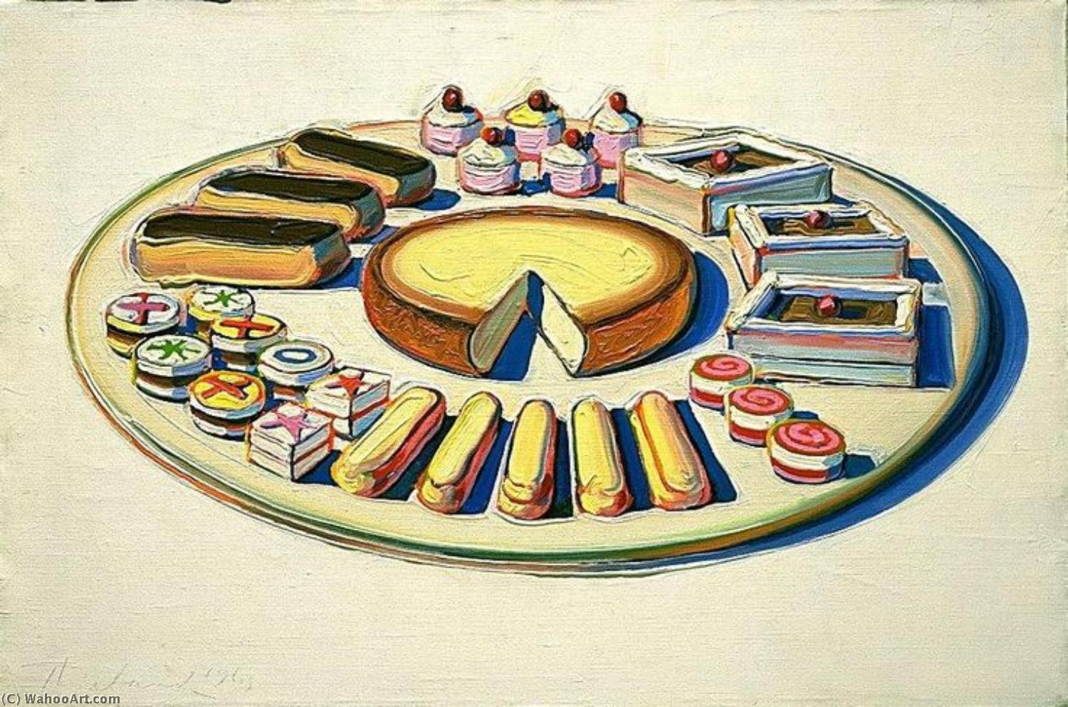 | Pop art by Wayne Thiebaud | Most-Famous-Paintings.com