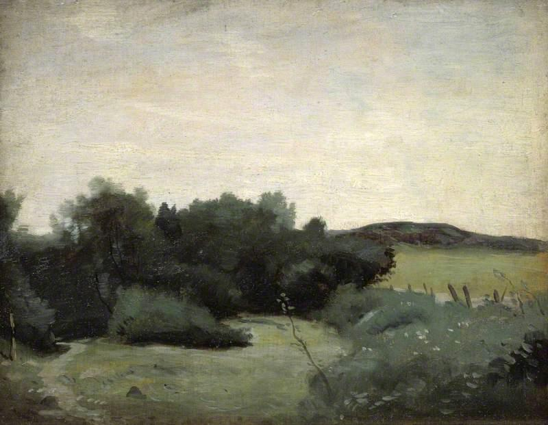 famous painting Landscape of William Strang