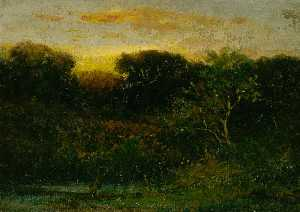 Edward Mitchell Bannister - Sunrise