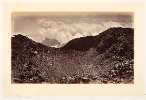 Eadweard Muybridge - Crater of Volcán Agua