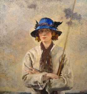 William Newenham Montague Orpen - The Angler