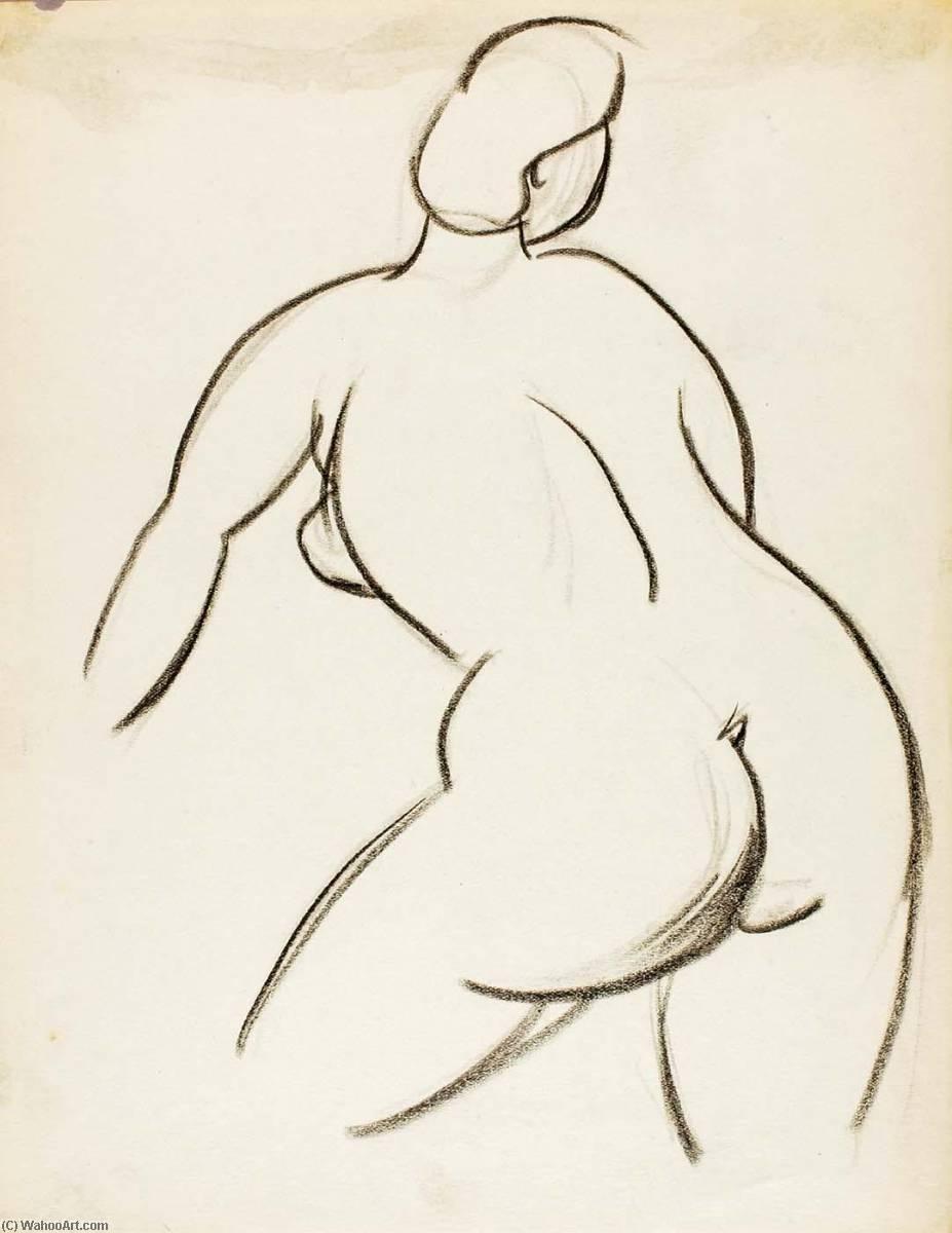 Line Art Painting Nude