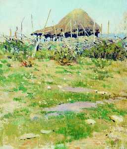 Sergei Arsenievich Vinogradov - The Hut